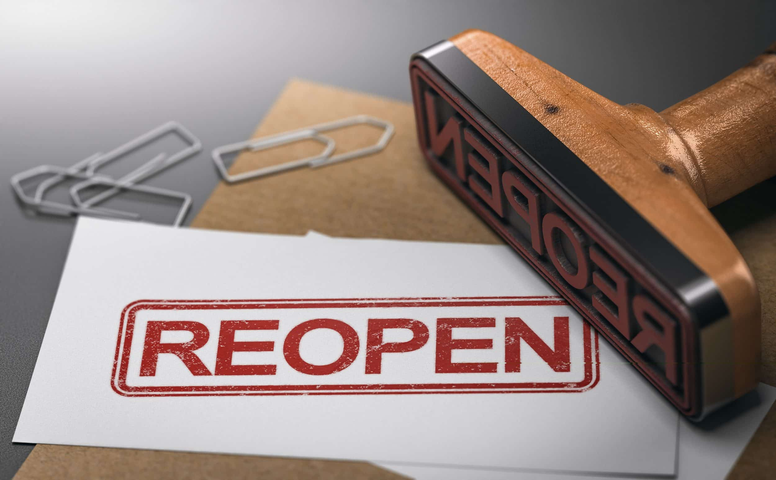 Reopen Businesses