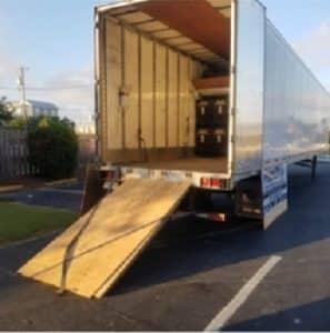 Industrial drying equipment truck