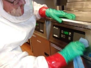 Commercial decontamination services