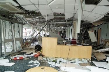 commercial hurricane damage