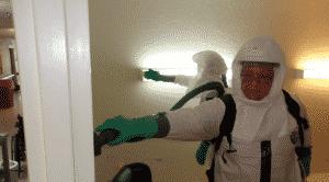Company Disinfecting Nursing Home