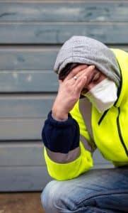 contaminated coronavirus worker