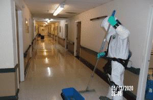 Decontamination Company in Nursing Home