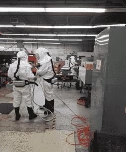 Decontamination Company in Warehouse