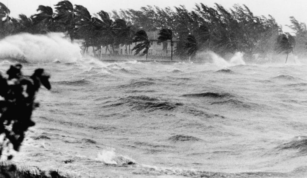 Hurricane flood damage